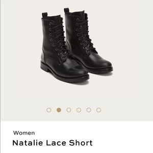 Frye Natalie Combat Boots